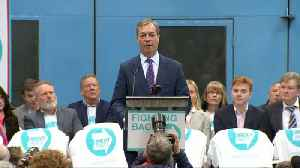 Nigel Farage launches the newly created 'Brexit Party' campaign [Video]