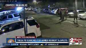 Tulsa police searching for 2 armed robbery suspects [Video]