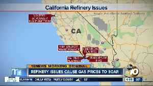 Refinery problems lead to surging gas prices in California [Video]