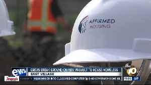 New affordable housing building to house homeless [Video]