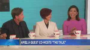 Amelia Santaniello Returns To 'The Talk' [Video]