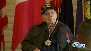 Local veteran awarded French Legion of Honor medal [Video]