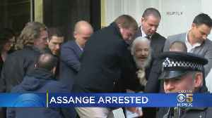 Wikileaks Founder Julian Assange Arrested, Dragged To Court [Video]