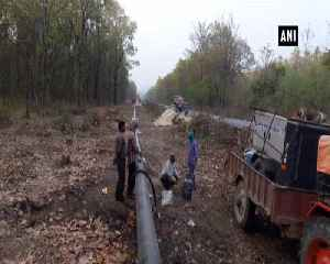 Indo Nepal petro pipeline work near completion [Video]
