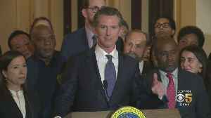 News video: Victims Families Demand Gov. Newsom Reverse Death Penalty Decision