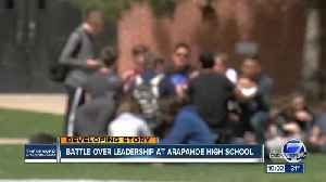 Group pushing for leadership change at Arapahoe High School goes before board [Video]