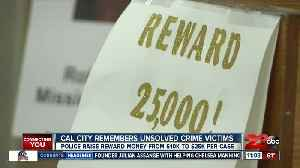 Cal City remembers unsolved crime victims [Video]