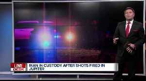 Shots fired in Jupiter community, one person in custody [Video]