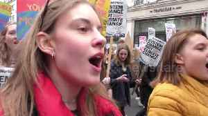 Youth climate change protests across UK [Video]