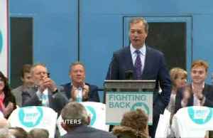 News video: Nigel Farage launches the newly created 'Brexit Party' campaign