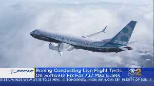 Boeing Conducts Software Update Test On 96 Flights [Video]