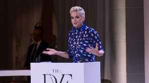 Katy Perry Honoured At DVF Awards [Video]