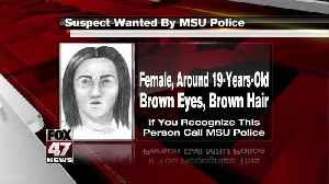 Suspect wanted by MSU Police [Video]