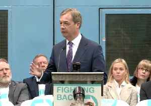Nigel Farage Launches 'Brexit Party', Fields Annunziata Rees-Mogg as European Parliament Candidate [Video]