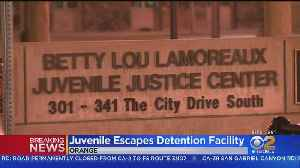 Teen Escapes From Juvenile Detention Center In Orange [Video]