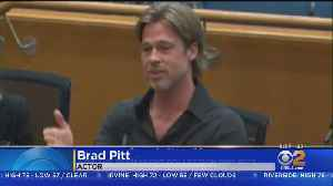 Brad Pitt, Diane Keaton Ask Supervisors To Approve Money For LACMA Redesign [Video]