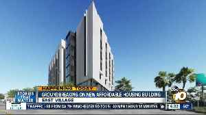 New affordable housing building going up in East Village [Video]