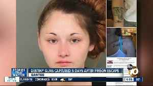 Woman who escaped from Santee jail recaptured [Video]