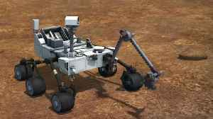 Curiosity Rover Takes First Bite Of 'Clay-Bearing Unit' [Video]