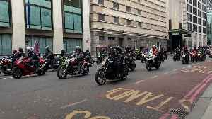 Thousands of bikers protest against soldier's Bloody Sunday prosecution [Video]
