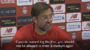 Klopp responds to racial abuse of Salah [Video]