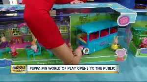 Peppa Pig World of Play immerses kids in animated series [Video]