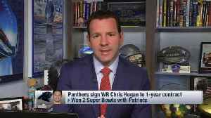 NFL Network Insider Ian Rapoport: How Carolina Panthers beat out New York Giants, Jets in wide receiver Chris Hogan sweepstakes [Video]