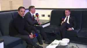 Nev and Carra's sit-down with Rodgers [Video]