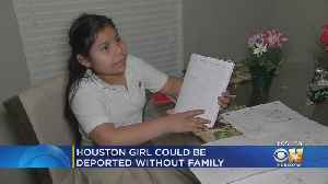 Houston Girl Faces Deportation Back To El Salvador Alone [Video]