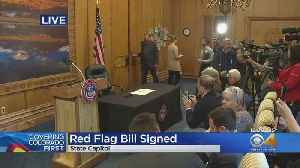 Gov. Jared Polis Signs Red Flag Bill Into Law In Colorado [Video]