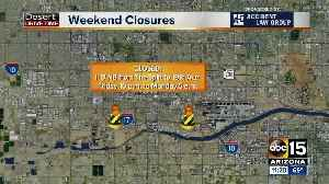 WEEKEND TRAFFIC: Closures in the Phoenix metro for April 12-14 [Video]