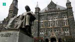 Georgetown University Students Call For Reparations [Video]
