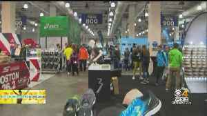 Thousands Of Runners Head To Hynes Convention Center For Boston Marathon Expo [Video]