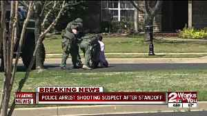 Police arrest Tulsa shooting suspect after standoff in Broken Arrow [Video]