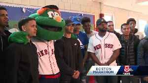 Red Sox giving back to community ahead of One Boston Day [Video]