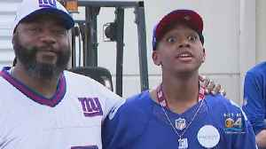 MSD High Student Battling Cancer Gets NY Giants Inspired Wish [Video]