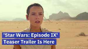 ' Star Wars: Episode lX' Is Here: The Breaking Story [Video]