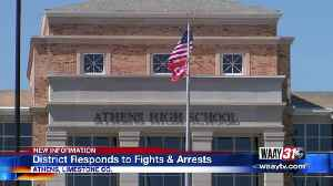 Athens School District Responds to Fights & Arrests [Video]