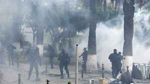 Eighty police officers injured as Algeria protests continue [Video]