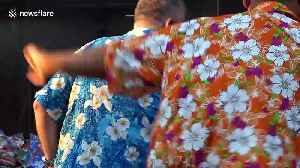 Tourists buy water guns and floral shirts for Thailand's Songkran new year festival [Video]