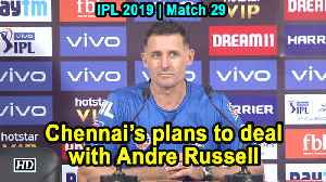 Chennai's plans to deal with Andre Russell [Video]