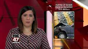 Family of crash victims awarded $10 million [Video]