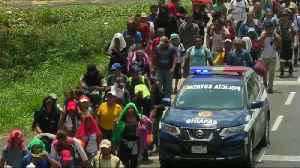 Central American migrant caravan reaches Mexico's southern border [Video]