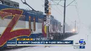 No charges for RTD driver accused of causing train crash that severed woman's leg [Video]