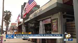 Man undergoes facial reconstructive surgery after Pacific Beach fight; Suspects sought [Video]