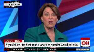 This is the question Amy Klobuchar would ask President Trump [Video]