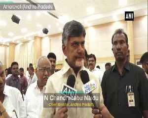 CM Chandrababu Naidu to discuss technical problems related to EVMs with EC tomorrow [Video]