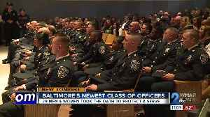 Baltimore's newest class of officers [Video]