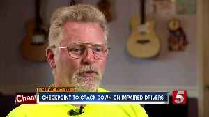 DUI checkpoint honors Boy Scout killed [Video]
