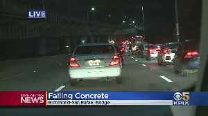 Baseball-Sized Concrete Chunks Fall From Richmond-San Rafael Bridge, Damaging Vehicle [Video]